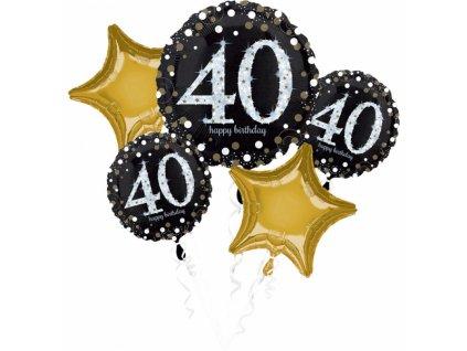Kytica balónov - 40. narodeniny