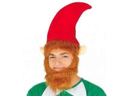 Elfská čiapka s fúzami
