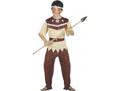 Kostým Indiána Cherokee (Veľkosti 10-12 rokov (výška 142-148cm))