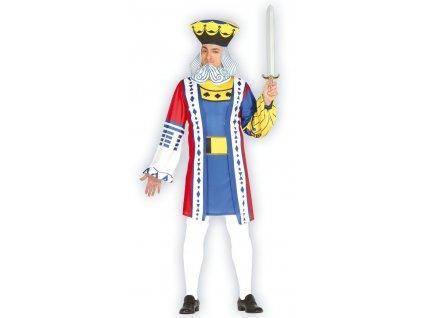 Pánsky kostým Kráľ - Game of cards