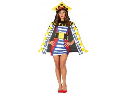 Dámsky kostým Kráľovná - Game of cards