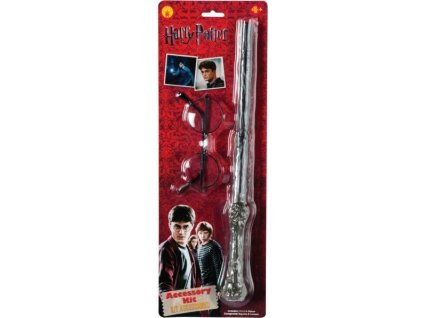 Harry Potter Blister Kit Wand and Glasses 5964101 193afec96fe4045fba3b93c71d8a223c