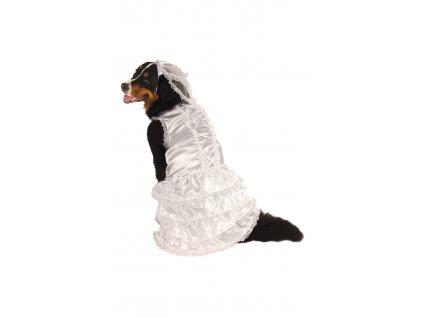 Kostým pre psov - Psia Nevesta