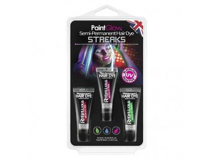 HP66 UV Semi Permanent Hair Dye Streaks grande