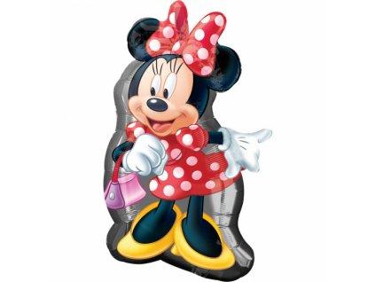 Fóliový balón Minnie Mouse 48 x 81 cm