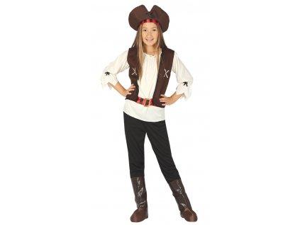 Detský kostým piratka