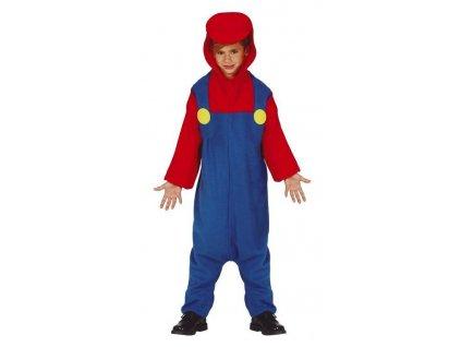 Detský kostým - Super Mario pyžamo (Veľkosť - deti XL)