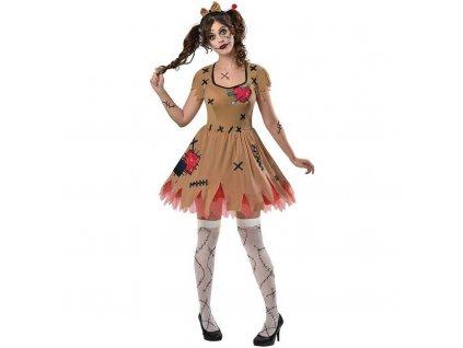 Dámsky kostým - Voodoo bábika (Veľkosť - Dospelí L)