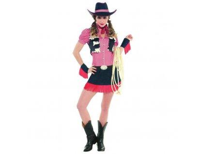 Dámsky kostým - Divoká kovbojka (Veľkosť - Dospelí S)