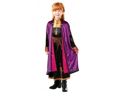 Detský deluxe kostým - Anna (šaty)