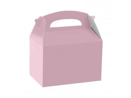 Papierový párty Box - ružový