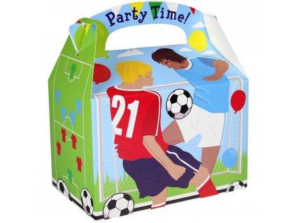 Papierový párty Box - futbal