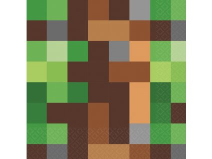 Servítky - Minecraft 16 ks