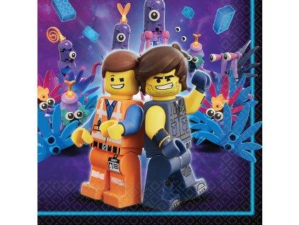 Servítky - Lego Movie 2 33 x 33 cm16 ks