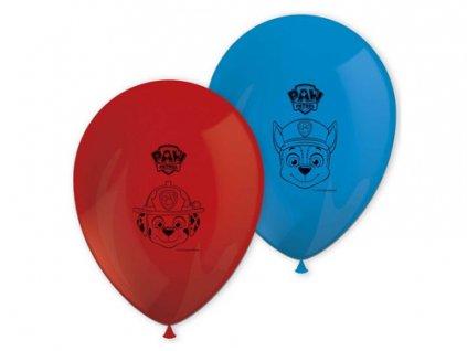 pol pm Balony urodzinowe Psi Patrol 30 cm 8 szt 38574 1