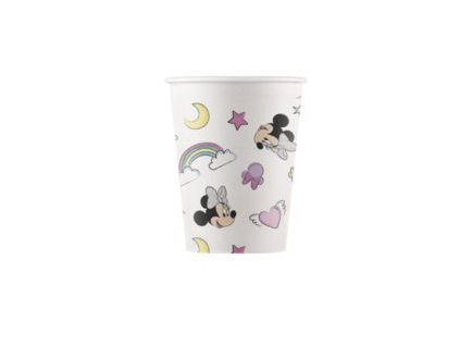 MINNIE UNICORN COMPOSTABLE PAPER CUP