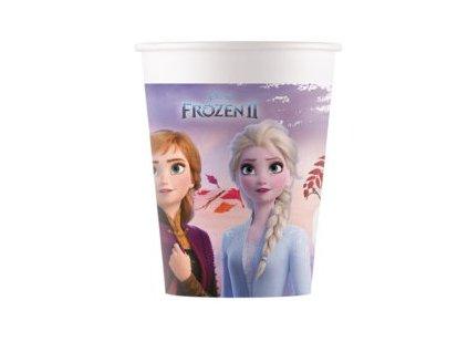 Kvalitné kompostovateľné poháre Frozen II 8 ks