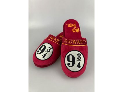 91909 Hogwarts Express 9 and 3 Quarters Mens Slippers WEB