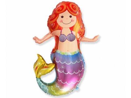 Fóliový balón detská morská víla