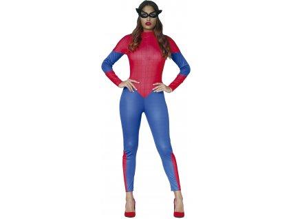 Kostým ženy Spidermana (Veľkosti M)