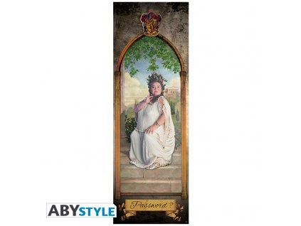 harry potter poster de porte grosse dame roule filme 53x158