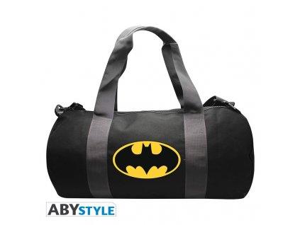 dc comics sac de sport batman grey black