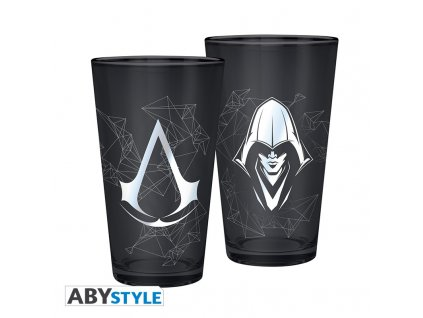 assassin s creed verre xxl 400 ml assassin foil x2