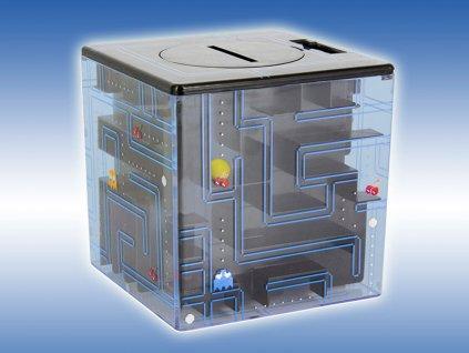 Pokladnička v tvare labyrintu - Pac-Man