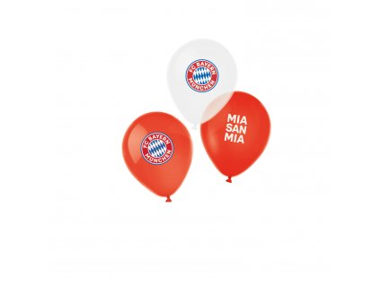 6 latexových balónov - FC Bayern Mníchov