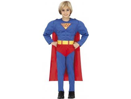 Kostým Superman (Veľkosti 3-5 rokov (výška 95-100cm))