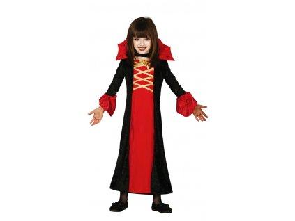 Detský kostým Upírky (Veľkosti 10-12 rokov (výška 142-148cm))