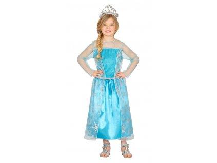 Detský kostým - Ľadová princezná