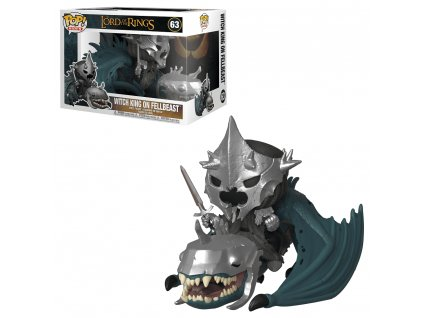 funko pop movies the lord of the rings 063 witch king with fellbeast