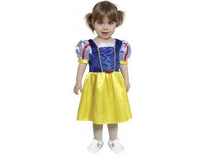 Detský kostým pre najmenších - Snehulienka