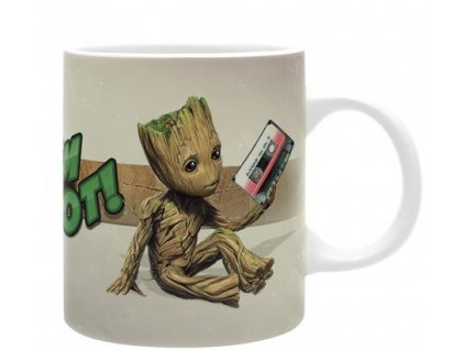 marvel mug 320 ml groot subli with box x2