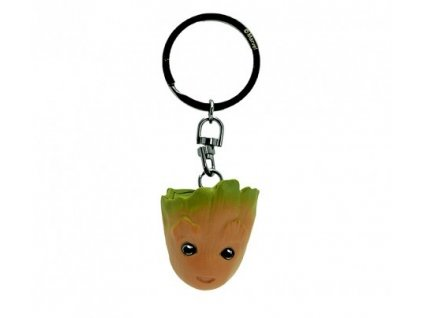 marvel keychain 3d groot x2