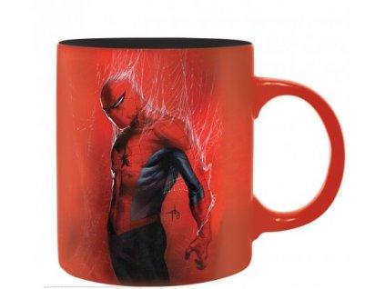 marvel mug 320 ml spider man box x2