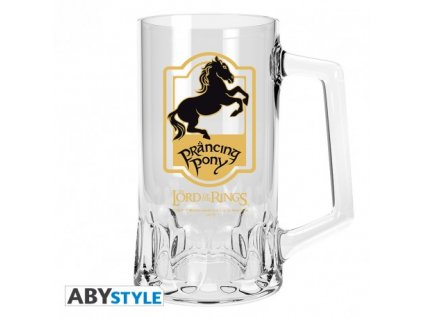 lord of the rings tankard prancing pony