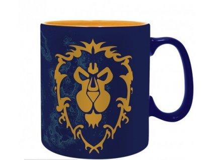 world of warcraft mug 460 ml alliance box x2