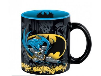 dc comics mug 320 ml batman action with box x2