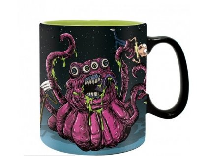 rick and morty mug 460 ml monsters with boxx2