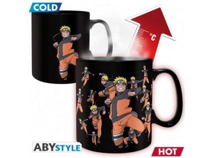naruto shippuden mug heat change 460 ml multicloning box x2
