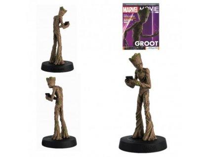 marvel movie figurine groot teenage 13cm