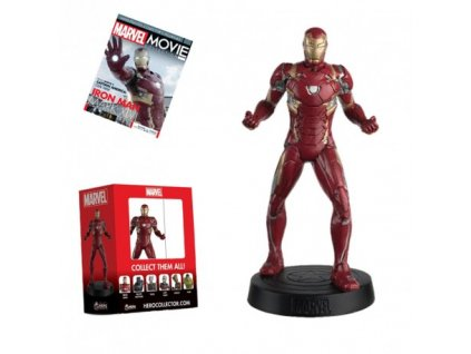 marvel movie figurine iron man mark xlvi 13cm