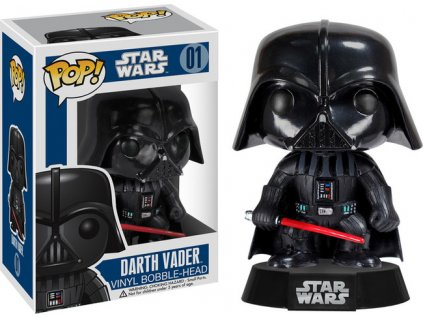 Figúrka Funko POP Bobble Star Wars - Darth Vader