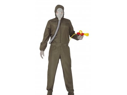 Pánsky kostým - Jadrový oblek Černobyl