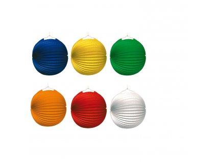 Lampáše jednofarebné 10 ks
