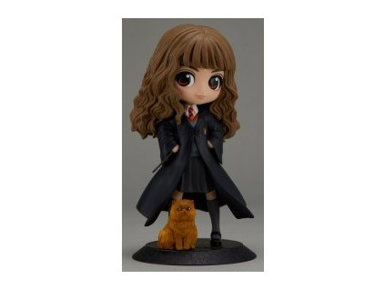 harry potter hermione granger with crookshanks q posket figure