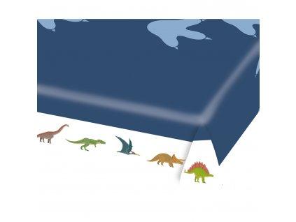 Papierový obrus Šťastný Dinosaurus 115 x 175 cm