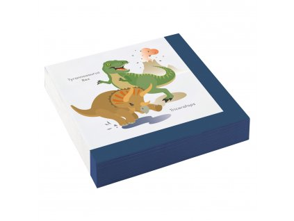 Servítky Šťastný Dinosaurus 33 x 33 cm 20 ks